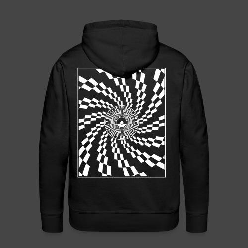 TEKNOSQUAT RÉSEAU SPIRAL - Sweat-shirt à capuche Premium pour hommes