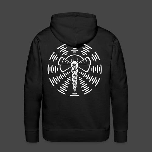 DRAGONFLY TEKNO 23 - Sweat-shirt à capuche Premium pour hommes