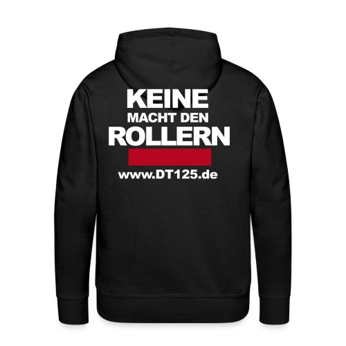 roller black - Männer Premium Hoodie