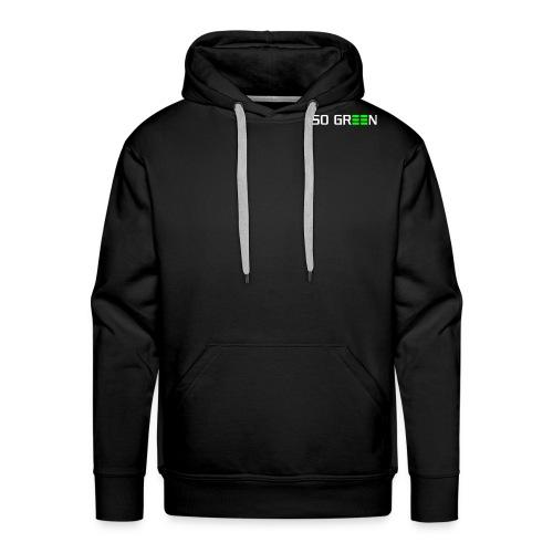 pfade logo so green klein - Männer Premium Hoodie