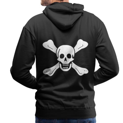 Richard Worley Flag - Sweat-shirt à capuche Premium pour hommes