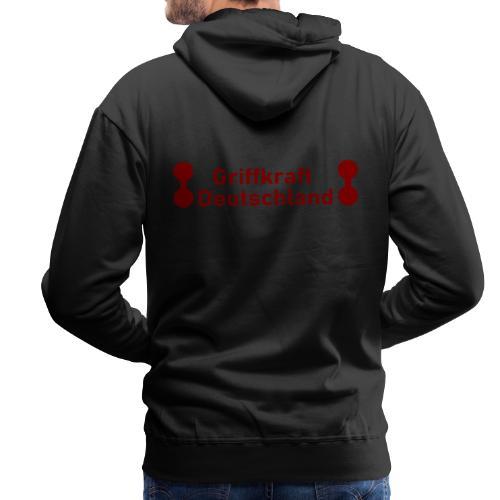 Griffkraft Deutschland Logo Gross - Männer Premium Hoodie