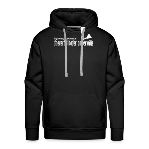 faererbalbafer_onnerwäjs_ - Männer Premium Hoodie