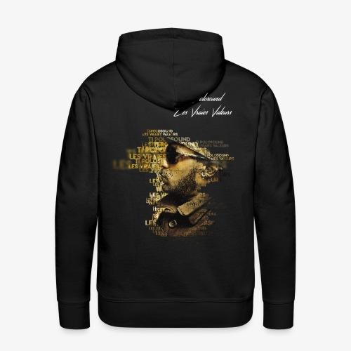 Ti Polosound - Les Vraies Valeurs - Sweat-shirt à capuche Premium pour hommes