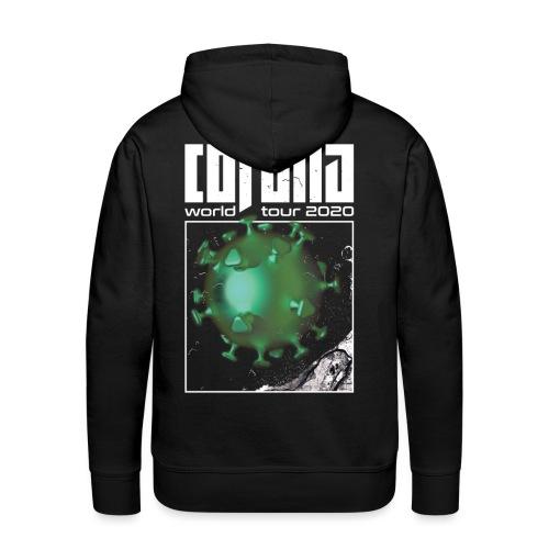 Corona World Tour 2020 | Coronavirus - Men's Premium Hoodie