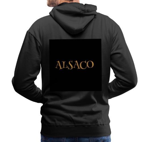 Alsaco dark - Sweat-shirt à capuche Premium pour hommes