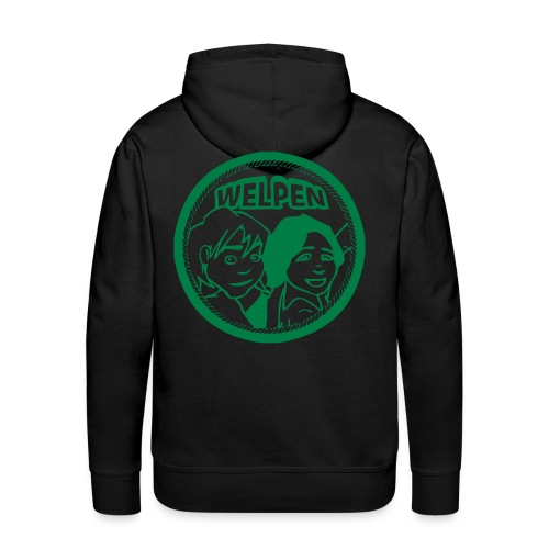 welpen logo - Mannen Premium hoodie