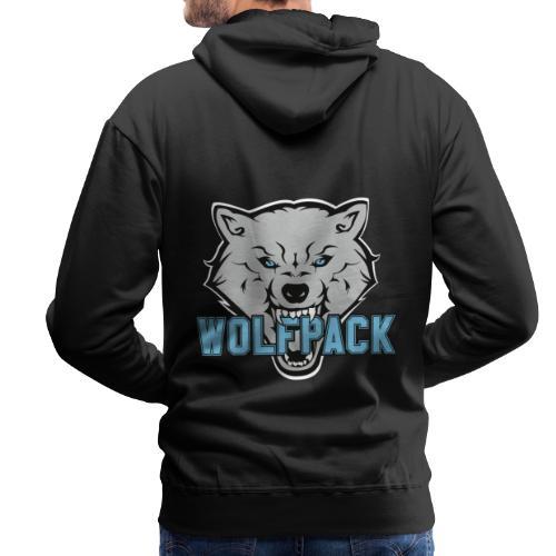 WOLFPACK CHEERLEADING - Männer Premium Hoodie