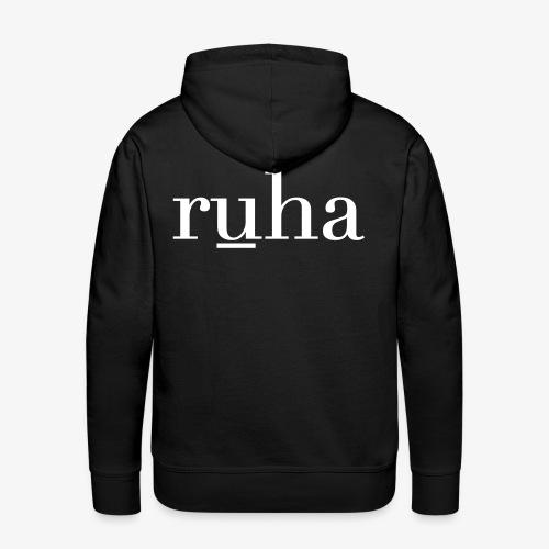Ruha - Mannen Premium hoodie