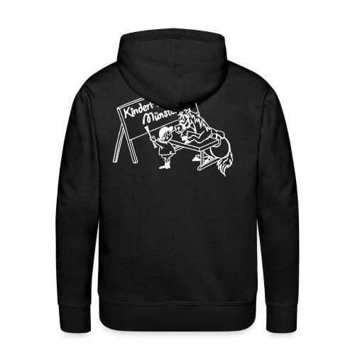 LogoWeiss - Männer Premium Hoodie