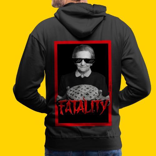 Fatality - Felpa con cappuccio premium da uomo