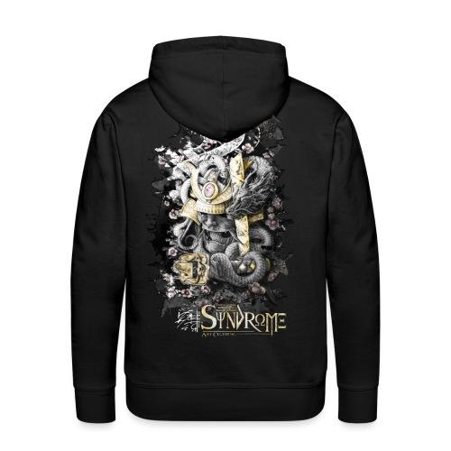 Lost Samouraï - Sweat-shirt à capuche Premium pour hommes