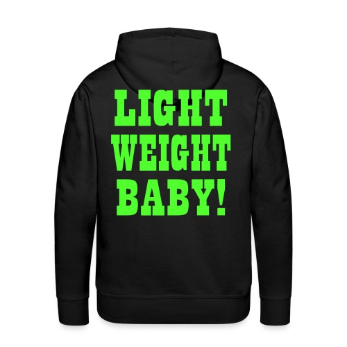 Light Weight Baby Vektor - Männer Premium Hoodie