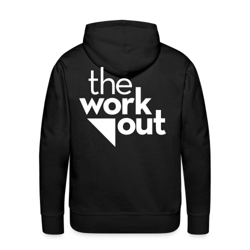 the WORKOUT - Felpa con cappuccio premium da uomo
