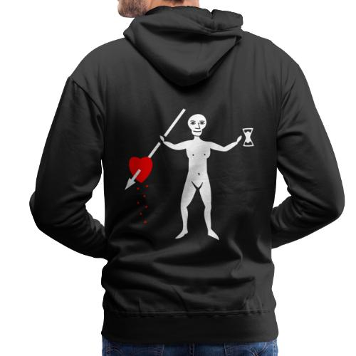 John Quelch Flag - Sweat-shirt à capuche Premium pour hommes