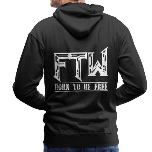 F.T.W - Sudadera con capucha premium para hombre