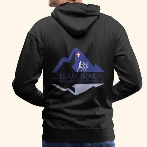 Team Trail Aix les Bains - Sweat-shirt à capuche Premium pour hommes