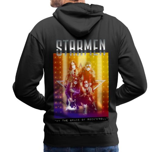 Starmen By the Grace of Rock'n'Roll - Men's Premium Hoodie