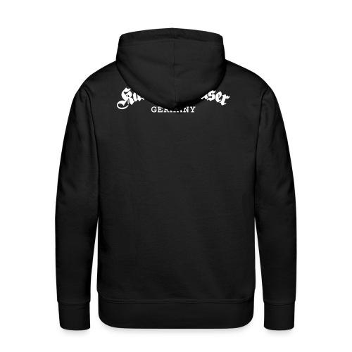 Kampfschmuser Germany - Männer Premium Hoodie