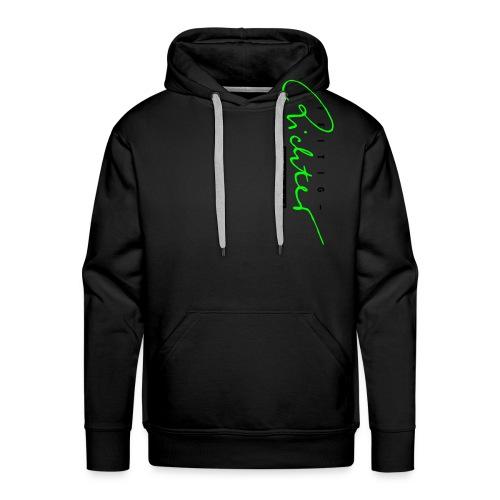 logo schwarzrot - Männer Premium Hoodie