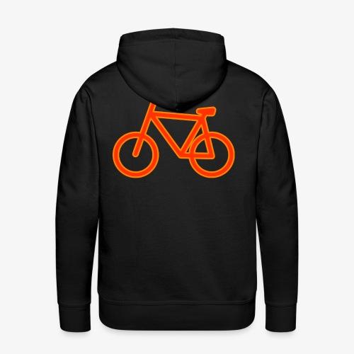 Fahrrad Symbol Shirt Design Geschenk - Männer Premium Hoodie