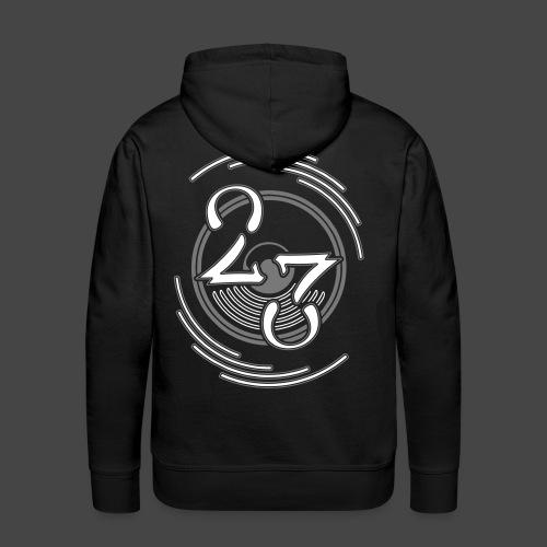 23 - Sweat-shirt à capuche Premium pour hommes