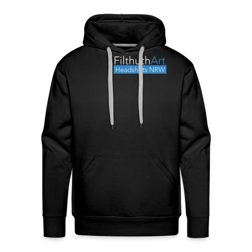 FilthuthArt Logo white - Männer Premium Hoodie