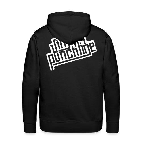 Jimmy Blanc - Sweat-shirt à capuche Premium pour hommes