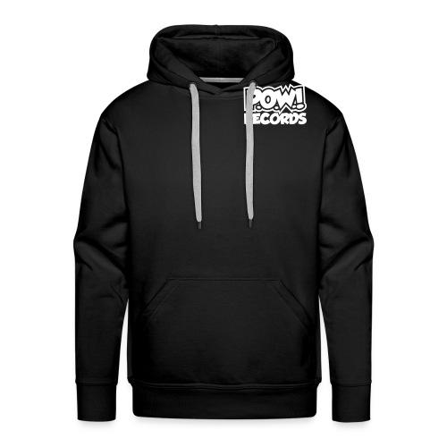 POW Logo Black White - Mannen Premium hoodie