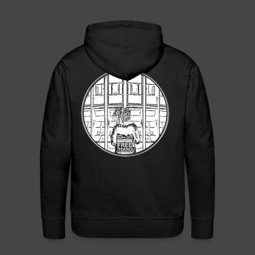 SUPPORT FREETEKNO - MAR - Sweat-shirt à capuche Premium pour hommes