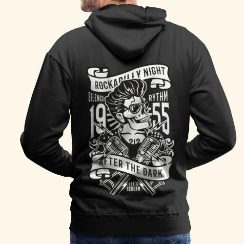 Rockabilly Night - Männer Premium Hoodie