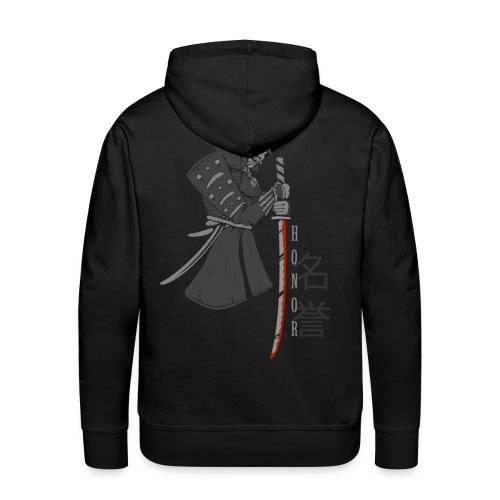 Samurai Digital Print - Männer Premium Hoodie