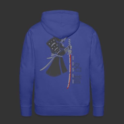 Samurai Digital Print - Men's Premium Hoodie