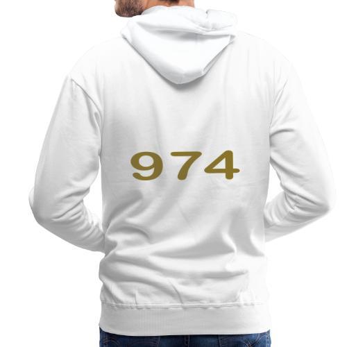 fier et kreol hom 02 ti - Sweat-shirt à capuche Premium pour hommes