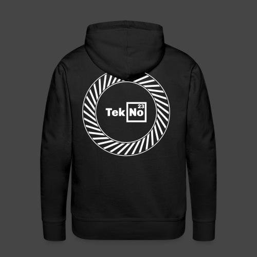 TEKNO23 ROUND - Sweat-shirt à capuche Premium pour hommes