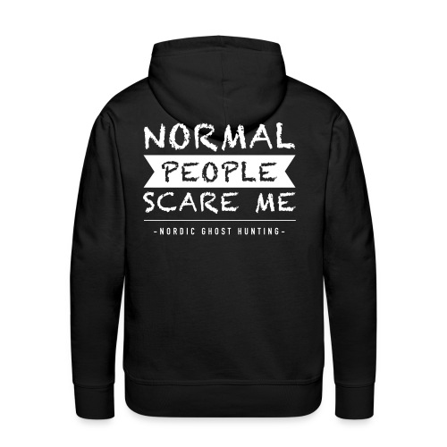 Normal people scare me - Premiumluvtröja herr
