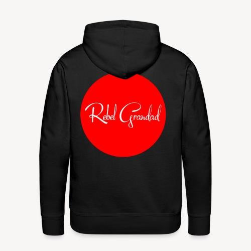 Red Circle - Men's Premium Hoodie