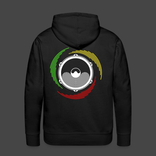 Ragga Tekno 23 - Sweat-shirt à capuche Premium pour hommes