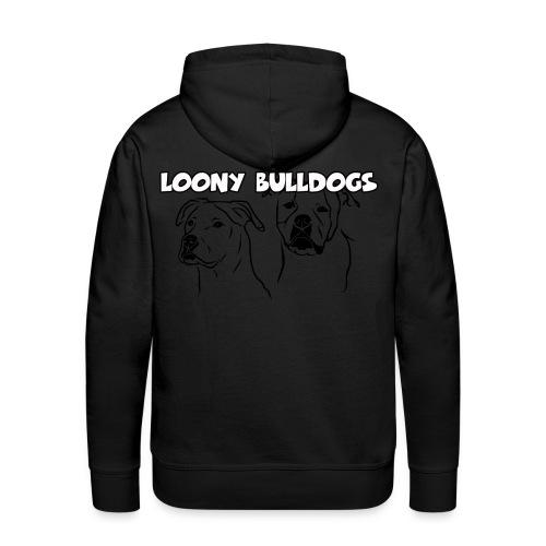 Amercan Bulldog Standard Female 1 - Männer Premium Hoodie