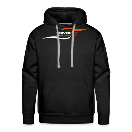 servs logo fluegel - Männer Premium Hoodie