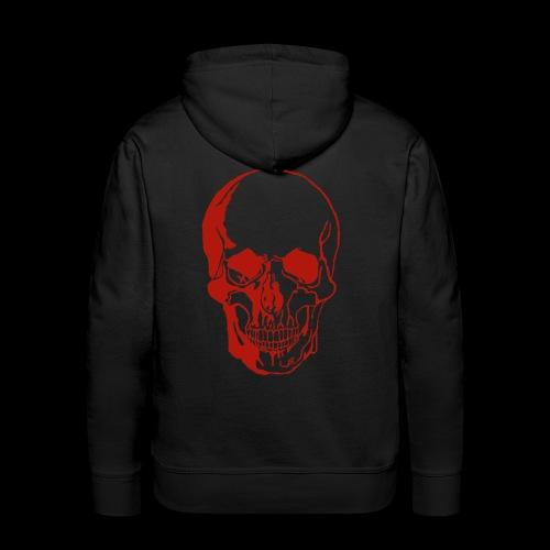 1fd8aa5d7f84f0b9638e591aec507d95 skull sketch sku - Männer Premium Hoodie