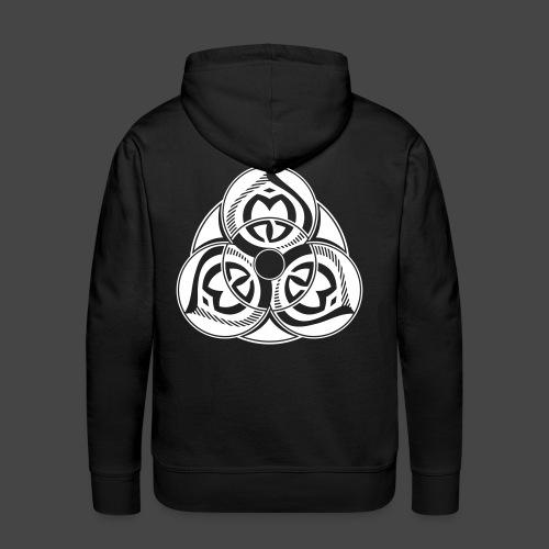 23 SPIRIT - Sweat-shirt à capuche Premium pour hommes