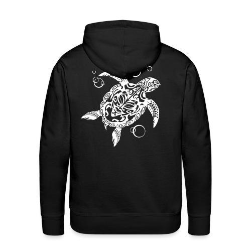Watchful Turtle - Men's Premium Hoodie