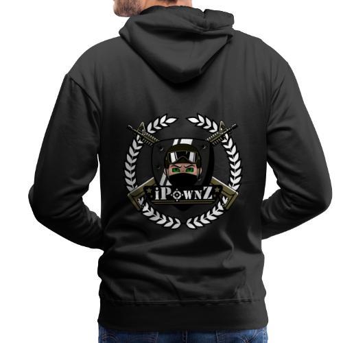iPownZ Logo - Männer Premium Hoodie