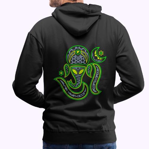 Aum Ganesha 3 Color - Men's Premium Hoodie
