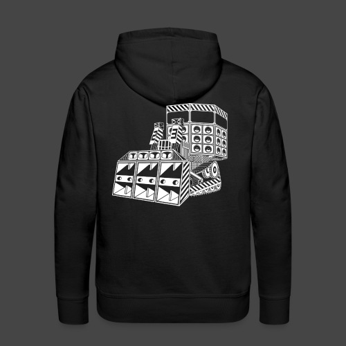 bulldozer 23 - Sweat-shirt à capuche Premium pour hommes