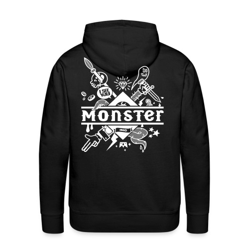 monster - Men's Premium Hoodie