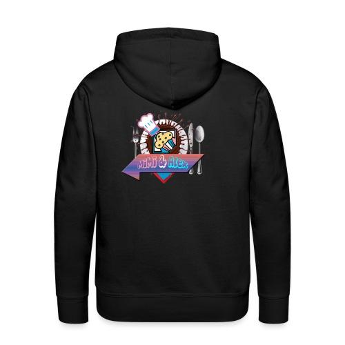 Pour Les Amour fou de la Bouff - Sweat-shirt à capuche Premium pour hommes