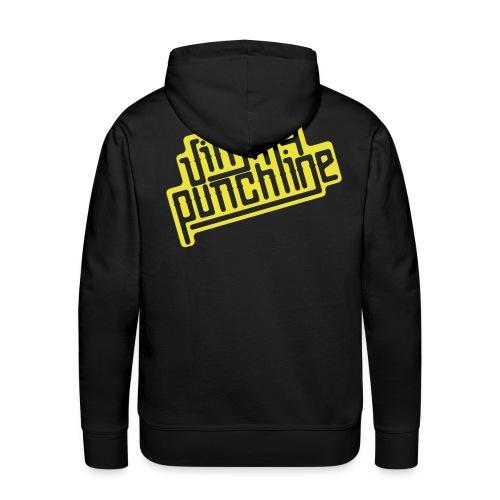 Jimmy Jaune - Sweat-shirt à capuche Premium pour hommes