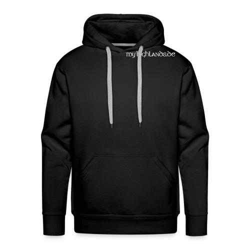 MyHighlands.de Schriftzug - Männer Premium Hoodie